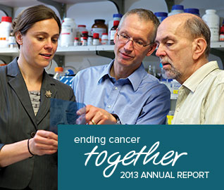 Ending Cancer Together - 2013 Annual Report