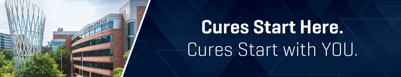 Cures start here. Cures start with you.
